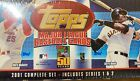 2001 Topps Baseball Cards Complete Set: Includes Series 1&2