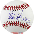 Nolan Ryan Signed Autographed Official ML Baseball Inscribed 5714 K's TRISTAR