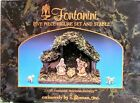 Fontanini Italian Nativity 5 piece set and Stable 25 NRFB