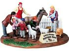 LEMAX CHRISTMAS VILLAGE CARNIVAL PETTING ZOO TABLE ACCENT