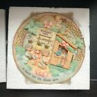 New Precious Moments Nativity Scene Wall Plate with Door