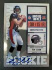 Panini Confirms 2010 Playoff Contenders Tim Tebow Inscription Variations 5
