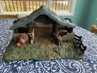 Thomas Kinkade Hawthorne Village Star of Hope Creche Nativity Manger only Stable