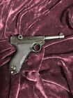 Parabellum Luger P08 Replica Simulated Firing Loading Removable Magazine WWII