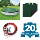 Titan 24 Ft Round Green Solid Above Ground Winter Pool Cover