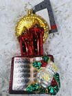 Radko Merry Melodies NWT 1015655 Candles with Song Book 2010 Retired Ornament