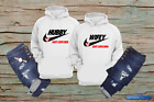 Couples Hubby Wifey matching hoodies for couples