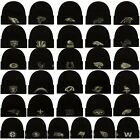 New Era 2020 Salute to Service On Field Black Army Green Knit Beanie Hat Cap