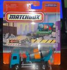 Matchbox 4 Real Working Rigs BLUE TEAL FLORES CEMENT 2007 MERCEDES ACTROS