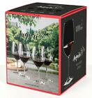 NEW Riedel Auguri Red Wine Crystal Glass Set of 4 Made in Germany NIB