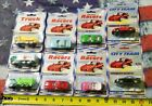 LOT O 9 WELLY ASSORTED 28 MODELS DIECAST METAL ITEM NO19008 FORD 8360B KEYCHAIN