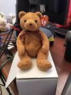 TY Beanie Baby Woody The Bear With Tag Retired  January 28th, 2002 Mint