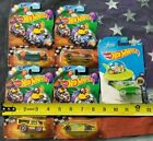 LOT OF 5 HOT WHEELS V1405 YUR SO FAST MAELSTROM CHILL MILL OVERBORED 454 JETSONS