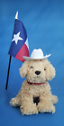 Ty Beanie Baby Dooley the Dog (Golden Retriever 2006) Texas Flag & Hat No Tags