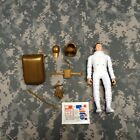 Vintage Marx JOHNNY APOLLO Astronaut Figure Accessories and Decal Sheet 1968