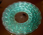 Rene Lalique 1931 Largest Ormeaux Plate 14 With A Green Patina Good Cond