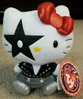 Ty Beanie Baby HELLO KITTY STARCHILD Paul Stanley from Rock N Roll Band KISS NEW