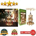 21 Inches Christmas Decoration Wood Nativity Scene Set Centerpiece Holiday Decor
