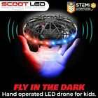 Force1 Scoot LED Hand Drone for Kids Kids Drone Flying Ball Drone Light Up