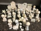 Precious Moments COME LET US ADORE HIM Nativity Set With Extras 39 Pieces W boxe