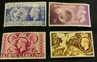 George VI 1948 Olympic Games Postage Stamps