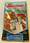 2009 Bowman Draft Picks NFL Hobby Pack Autographed Patch Or Rookie In Each Pack