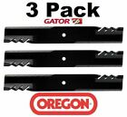 3 Pack Oregon 396 740 Mower Blade Gator G6 Gravely 025124 046999 08979600