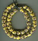African Trade beads Vintage Venetian old glass beads rare matched millefiori 3