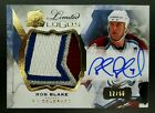Rob Blake Cards, Rookie Cards and Autographed Memorabilia Guide 8
