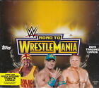 2015 Topps Road to WrestleMania Wrestling Trading cards Hobby Box 2 hits
