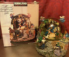Christmas MUSICAL Revolving NATIVITY WATERGLOBE LED Lights Water Globe KIRKLAND