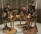 Bombay Company 3 Kings Wise Men on Camel 15 Large Nativity Figures Christmas