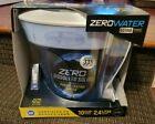 NEW Zero Water Pitcher 10 Cup 5 Stage Advanced w Water Quality Meter