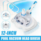 12 Pond Pool Vacuum Head Brush Pool Cleaner Tool for 3cm 12 Vacuum Hose