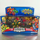 Marvel Super Hero Squad AVENGERS ASSEMBLE Box Ms Marvel Vision Iron Spider