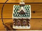 Christopher Radko Sweet Ginger Cottage Ornament
