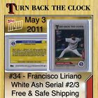 2020 Topps Now Turn Back the Clock Baseball Cards Checklist 21