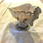 CAMBRIDGE GLASS CROWN TUSCAN CHARLETON FLYING NUDE LADY SHELL FOOTED COMPOTE