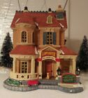 Lemax Christmas Village (2013) – Lamplighter Inn - is a beauty with adorable det