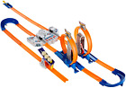 Hot Wheels Track Builder Total Turbo Takeover Track Set  Exclusive 2 Way New