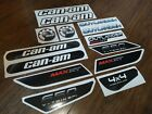 For CAN AM CAN AM OUTLANDER 650 MAX XT 2012 full decals stickers logo set kit