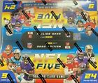 2020 Panini NFL Five Football Trading Game Booster Box Factory Sealed