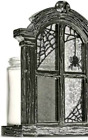 Bath  Body Works Halloween Spider Glass Window Candle Holder Awesome