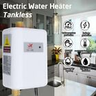 3000W Instant Hot Water Heater Electric Tankless On Demand House Shower Sink