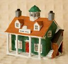 Lemax DICKENSVALE Village Porcelain TOWN HALL 1993 Christmas LIGHTED HOUSE Used