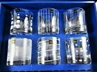 Mikasa Cheers Double Old Fashioned Glasses Set Of 6 Each Unique France Open Box