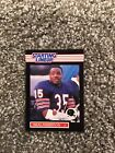 CHICAGO BEARS 1989 NEAL ANDERSON STARTING LINE UP FOOTBALL CARD NM NICE