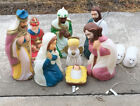 Vintage Empire 36 Tall Nativity 9 Piece Set