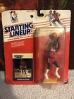 Vintage Kenner Action Figure Starting Lineup 1988 Reggie Williams MOC Clippers