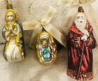 Waterford Holy Family 3 Pc Mini Nativity Set Series Poland 2001 BRAND NEW